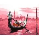 В розовом свете (художник Ричард Макнейл) Раскраска картина по номерам акриловыми красками на холсте
