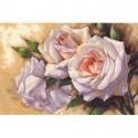 Белые розы 35247 Набор для вышивания Dimensions