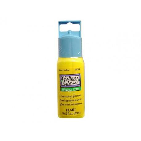 Витражная краска солнечно желтая PLD-16004