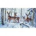 Зима в лесу 35130 Набор для вышивания Dimensions