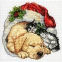 Рождественское утро 08826 Набор для вышивания Dimensions