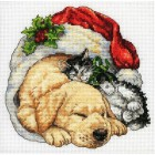 Рождественским утром 08826 Набор для вышивания Dimensions ( Дименшенс )