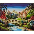 Сказочный лес Раскраска картина по номерам акриловыми красками на холсте