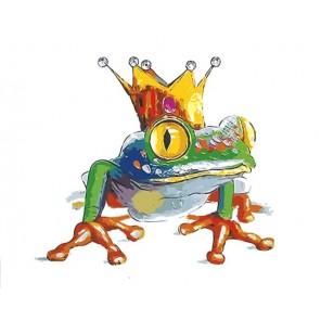 Царевна-лягушка Раскраска картина по номерам акриловыми красками на холсте Menglei