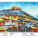 Лесбос Раскраска картина по номерам на холсте