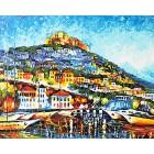 Лесбос Раскраска картина по номерам акриловыми красками на холсте