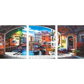 Романтика Венеции Раскраска картина по номерам на холсте