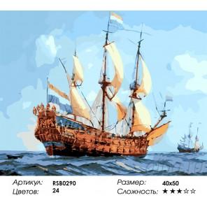 Одиссея Раскраска картина по номерам на холсте