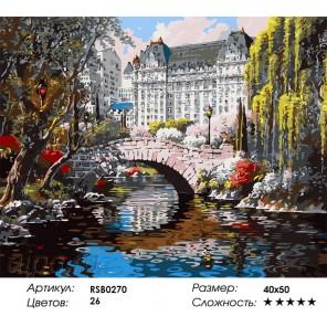 Количество цветов и сложность Весна в Нью-Йорке Раскраска картина по номерам акриловыми красками на холсте