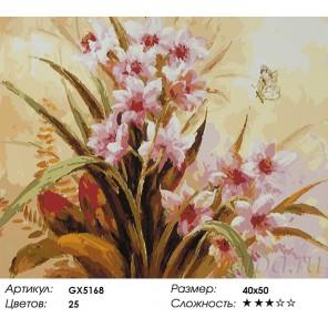 Количество цветов и сложность Ароматные зефирантесы Раскраска картина по номерам акриловыми красками на холсте