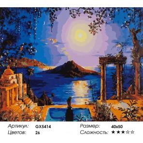 Количество цветов и сложность Сад Теры Раскраска картина по номерам акриловыми красками на холсте
