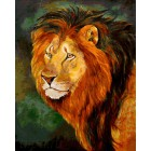 Его Величество Лев Раскраска картина по номерам акриловыми красками на холсте