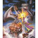 Величественный волшебник Набор для вышивания Счетный крест Dimensions