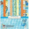 Сказки Моря 8 листов Набор бумаги для скрапбукинга, кардмейкинга ScrapBerry's