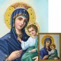 Иверская икона Божией Матери Алмазная вышивка мозаика Гранни