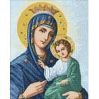 Макет Иверская икона Божией Матери Алмазная вышивка мозаика Гранни