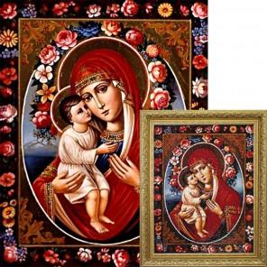 Феодотьевская икона Божией Матери Алмазная вышивка мозаика Гранни