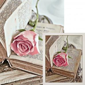 Готовая работа Любовный роман Алмазная вышивка мозаика Гранни