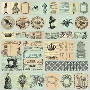 Карточки Монетный двор Версаль Бумага односторонняя для скрапбукинга, кардмейкинга ScrapBerry's