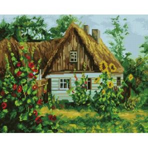 Загородный домик Алмазная мозаика вышивка на подрамнике Molly