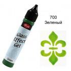 700 Зелёный Эффект стекла Гель Viva Decor