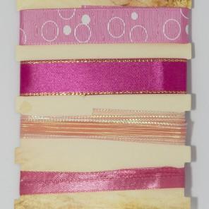 Карамельно-розовый Набор лент MAGIC HOBBY
