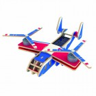 Вертолет-самолет Bell V-22 OSPREY (на солнечной энергии, красочное покрытие) 3D Пазлы Деревянные Robotime