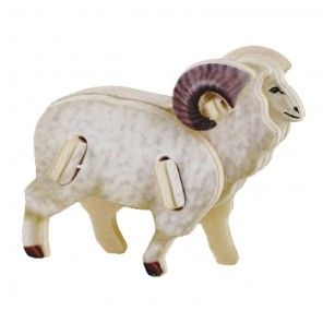 Овца 3D Пазлы Деревянные Robotime
