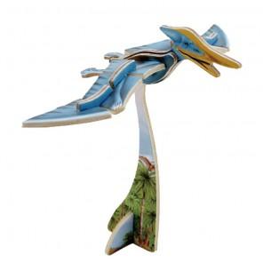 Птерозавр 3D Пазлы Деревянные Robotime