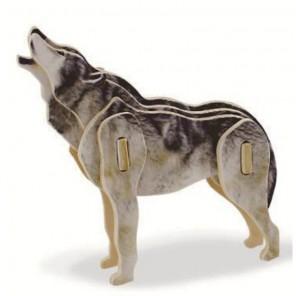 Волк 3D Пазлы Деревянные Robotime