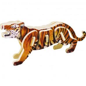 Тигр 3D Пазлы Деревянные Robotime