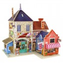 Британский музыкальный магазин 3D Пазлы Деревянные Robotime