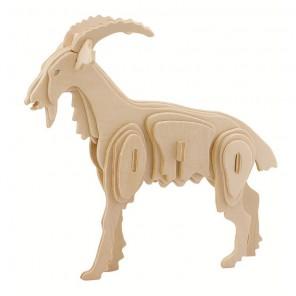 Коза 3D Пазлы Деревянные Robotime