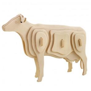 Корова 3D Пазлы Деревянные Robotime