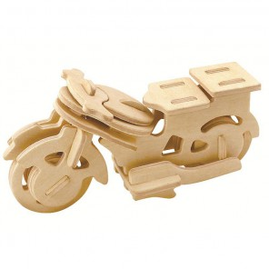Мотоцикл 3D Пазлы Деревянные Robotime