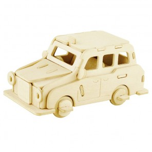 Лондонское такси 3D Пазлы Деревянные Robotime