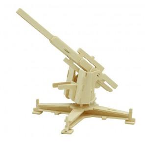 Зенитная установка 3D Пазлы Деревянные Robotime
