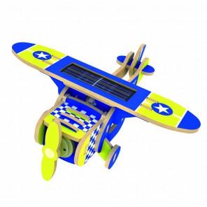 Моноплан (на солнечной энергии) 3D Пазлы Деревянные Robotime