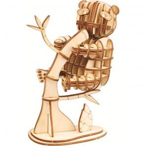Панда 3D Пазлы Деревянные Robotime
