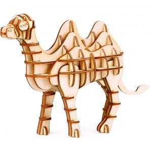 Верблюд 3D Пазлы Деревянные Robotime