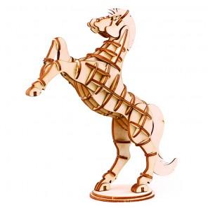 Лошадь 3D Пазлы Деревянные Robotime