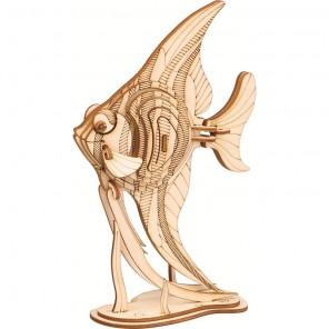 Золотая рыбка 3D Пазлы Деревянные Robotime