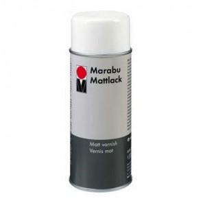 Матовый Лак акриловый аэрозольный ( спрей ) Marabu 150 мл