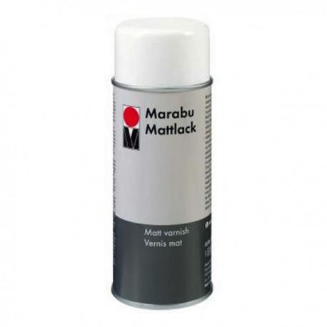 Матовый Лак аэрозольный ( спрей ) Marabu, 150 мл