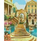 Античная арка Раскраска картина по номерам акриловыми красками на холсте