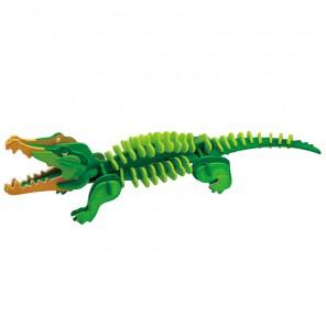 Крокодил 3D Пазлы Деревянные Robotime
