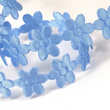 Лазурные цветы Лента декоративная для скрапбукинга, кардмейкинга