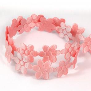 Персиковые цветы Лента декоративная для скрапбукинга, кардмейкинга