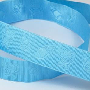 Голубая детская Ленты декоративные для скрапбукинга, кардмейкинга