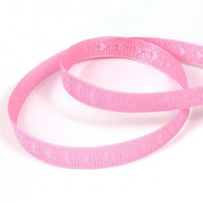 Розовые сердечки Лента декоративная для скрапбукинга, кардмейкинга